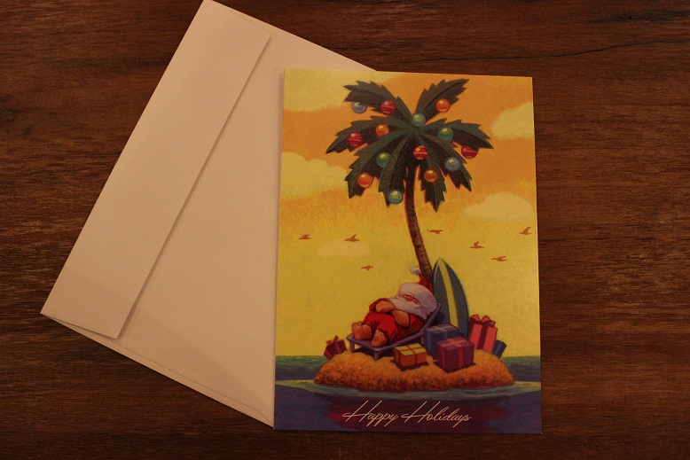 """CHRISTMAS CARD\"" from HAWAII_f0191324_102028.jpg"