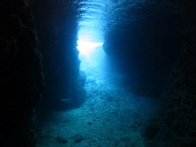 体験ダイビングで青の洞窟へ!_a0156273_14585789.jpg