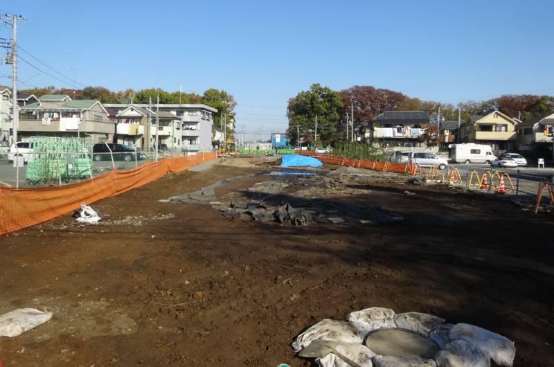 都市計画道路3・4・23号線整備状況と12月定例会初日_f0059673_3105429.jpg