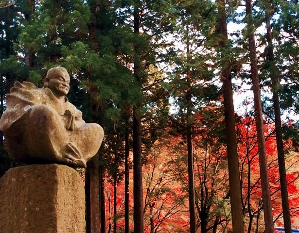 箱根の紅葉「龍虎山 長安寺」の「五百羅漢像」_a0138976_16574457.jpg
