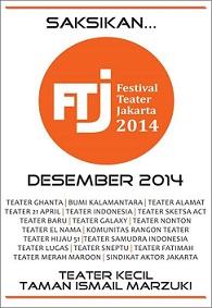 インドネシアの演劇:ジャカルタ演劇祭 Festival Teater Jakarta 2014_a0054926_2329918.jpg