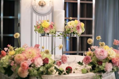 秋の装花 ホテルニューオータニ様へ_a0042928_20423963.jpg
