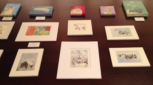 『土田朋子版画展』―ファンタジーな世界―が今日から始まります_d0178448_2445069.jpg