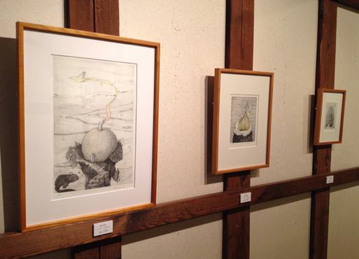 『土田朋子版画展』―ファンタジーな世界―が今日から始まります_d0178448_244617.jpg