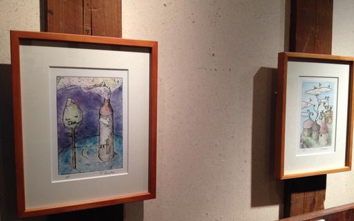 『土田朋子版画展』―ファンタジーな世界―が今日から始まります_d0178448_2453079.jpg