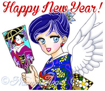 Naomi AngelのLINEスタンプ「天使たちの楽しいイベントー季節のあいさつ」販売開始♪_f0186787_23195170.jpg