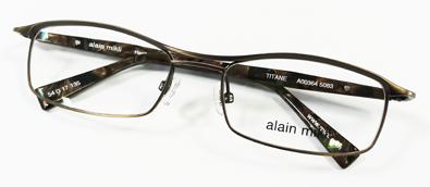 alain mikli TITAN(アランミクリ・チタン)日本企画A00364限定メガネフレーム入荷!_c0003493_1144311.jpg
