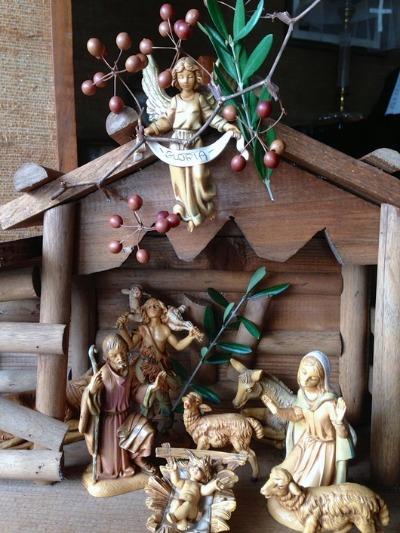 crèche (クレーシュ) 生誕の飾り付け †_c0203401_11421197.jpg