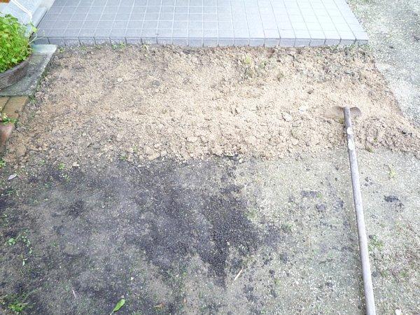 2014年11月28日 庭の芝張り作業 ①_b0341140_18322092.jpg