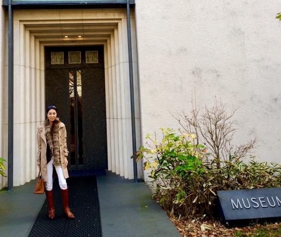 箱根ラリック美術館 特別企画「花咲く ラリックと金唐紙」のマリアージュ_a0138976_1785639.jpg