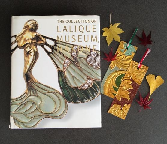 箱根ラリック美術館 特別企画「花咲く ラリックと金唐紙」のマリアージュ_a0138976_1792012.jpg