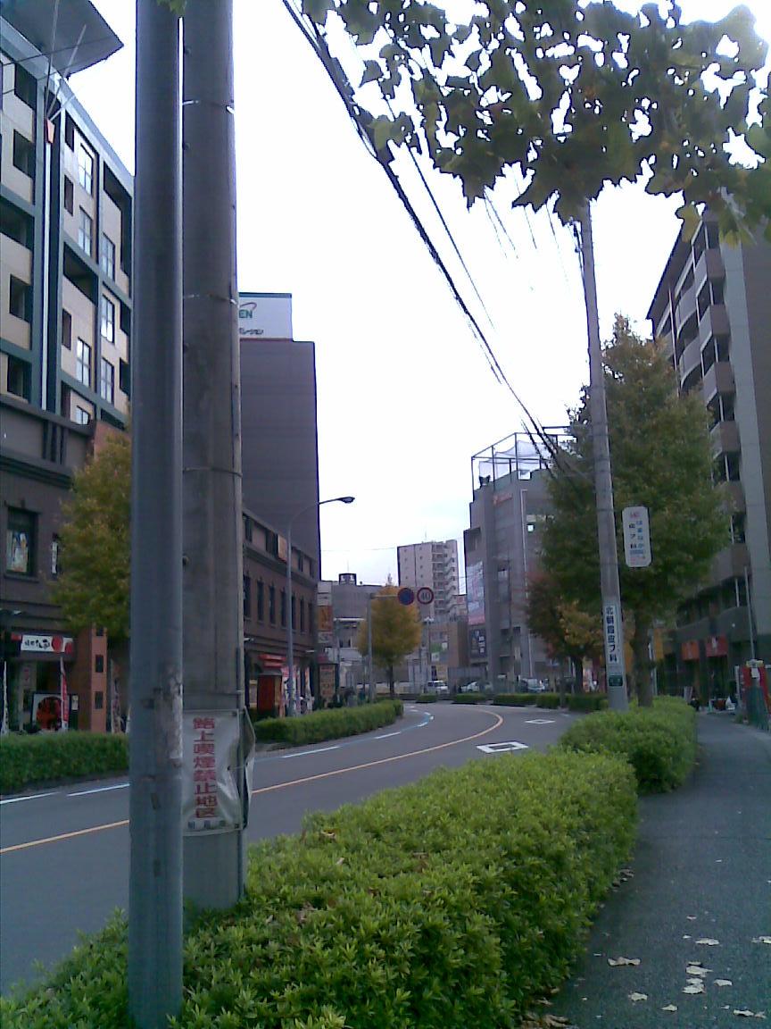 本日も小春日和、海江田が北朝霞駅前に_d0061678_22184835.jpg