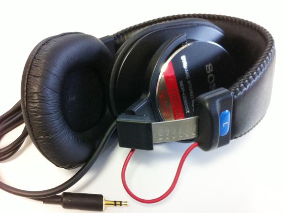 <MDR-CD900ST> ★左ハウジング ケーブル脱着加工/専用コード製作/折りたたみ加工/渡り線保護_d0215389_13233072.jpg