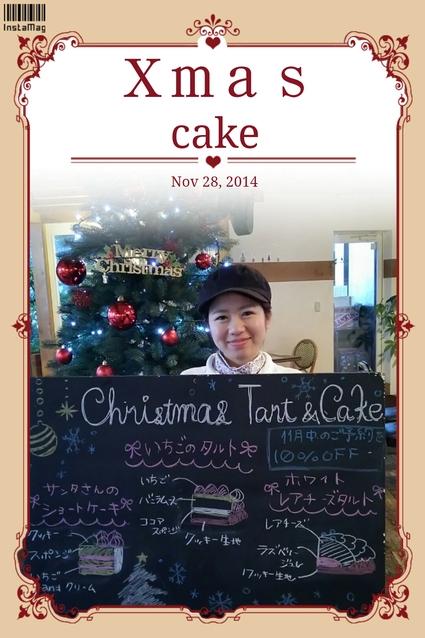 クリスマスケーキ_b0196791_1620191.jpg
