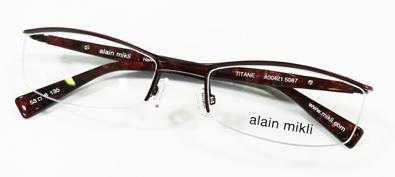 alain mikli TITAN(アランミクリ・チタン)日本企画A00421限定ナイロールフレーム入荷!_c0003493_14462049.jpg