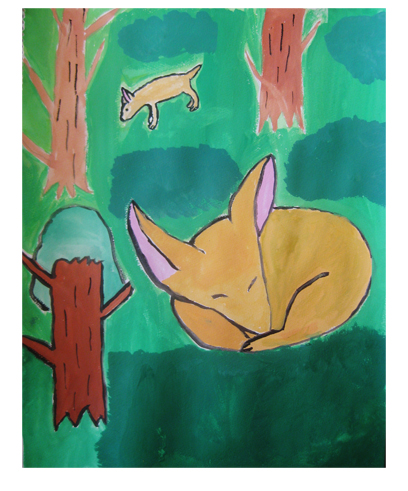 動物園にいって・小学生クラス_f0211514_18591247.jpg