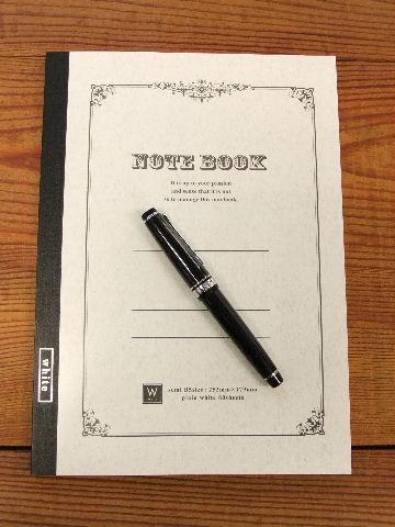 ダイソー・B5無罫ノートと万年筆。_f0220714_9131464.jpg