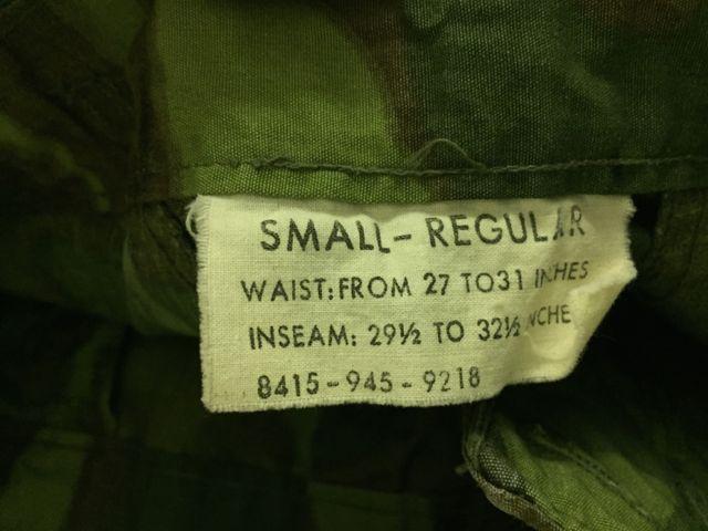 アメリカ仕入れ情報#15 VIETNAM WAR ERDL グリーンリーフカモ 初期_c0144020_11323583.jpg