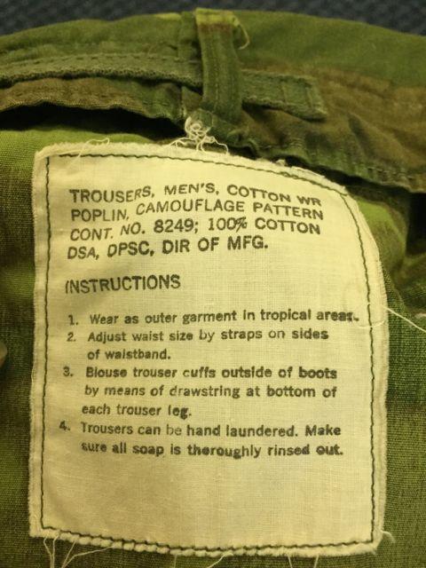 アメリカ仕入れ情報#15 VIETNAM WAR ERDL グリーンリーフカモ 初期_c0144020_11323745.jpg