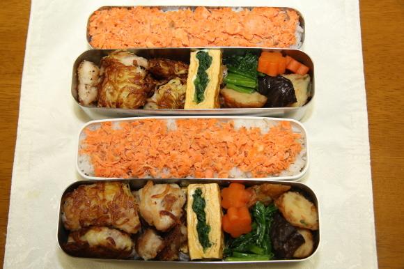 鶏肉のカリカリポテト包み和風弁当&牡蠣のから揚げあんかけ和膳_c0326245_11154768.jpg