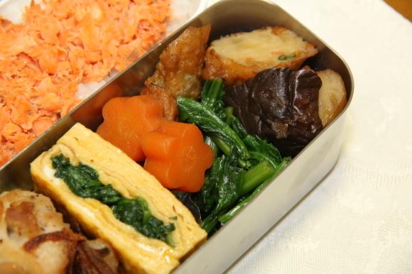 鶏肉のカリカリポテト包み和風弁当&牡蠣のから揚げあんかけ和膳_c0326245_11165273.jpg
