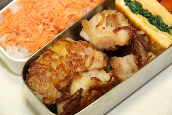 鶏肉のカリカリポテト包み和風弁当&牡蠣のから揚げあんかけ和膳_c0326245_11173149.jpg