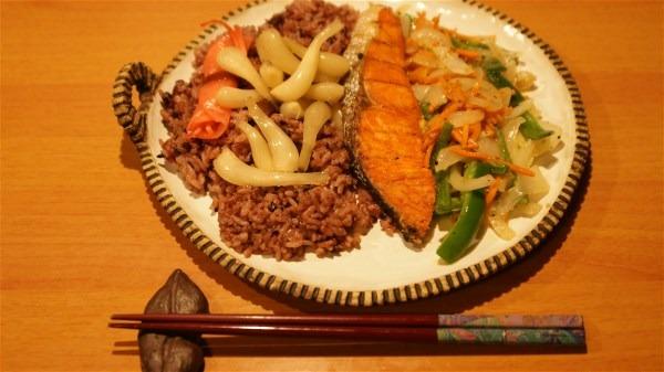 夕飯は焼き魚_e0166355_20133298.jpg