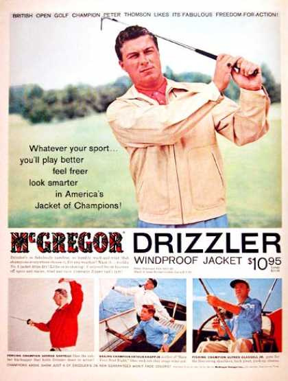 "\""McGregor DRIZZLER JACKET / 1957 vintage Ad\""ってこんなこと。_c0140560_10225068.jpg"