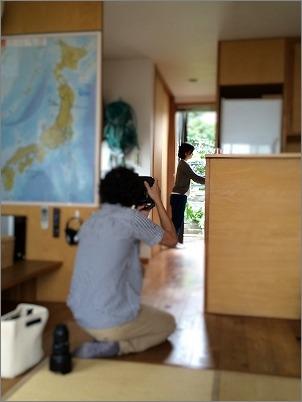 「 家事がしやすい部屋づくり 」取材先にて その1_c0199166_11381131.jpg