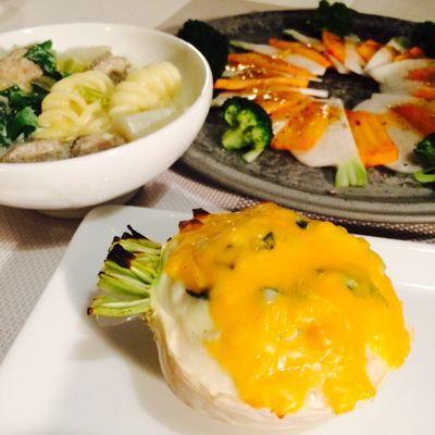 朝昼晩 野菜ごはん_c0116778_11113668.jpg