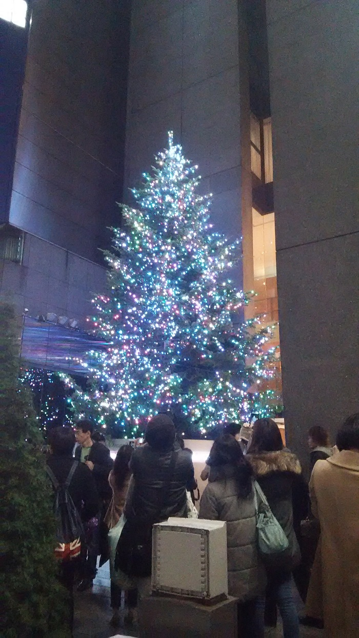 銀座だ〜  おもてなしを買う、クリスマスを楽しむ_f0062122_147156.jpg