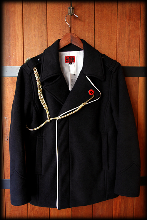 """The Good, The Bad & The King"" P-COAT (with SHOULDER CORD)_e0325662_13015726.jpg"