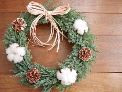 クリスマスリース と カップぱん_f0224465_8555133.jpg