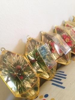 キラキラvintageクリスマスオーナメント@フリマ戦利品_e0183383_09502645.jpg