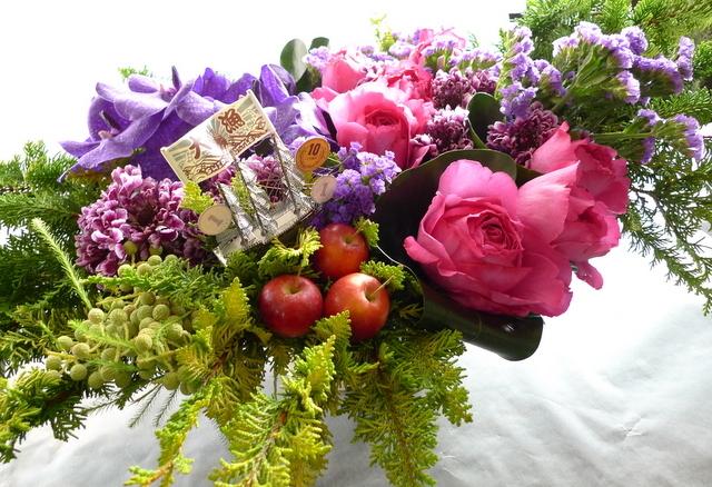 「SHIP IN A BOTTLE」に出演される三津谷 亮さんへのお花。_b0171193_21563737.jpg