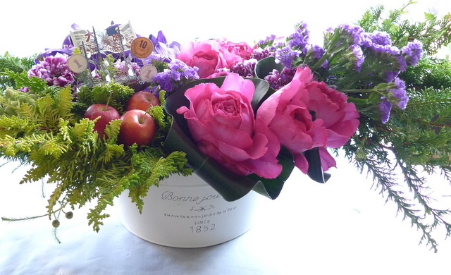 「SHIP IN A BOTTLE」に出演される三津谷 亮さんへのお花。_b0171193_21570531.jpg