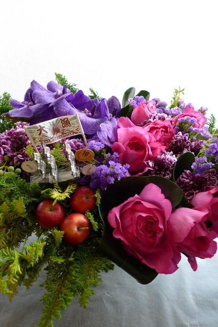 「SHIP IN A BOTTLE」に出演される三津谷 亮さんへのお花。_b0171193_21582646.jpg