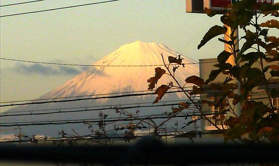 ご寄付ありがとうございます&1周年の富士山_d0071596_20134994.jpg