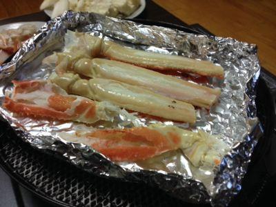 美味しい蟹!_a0234998_224716.jpg