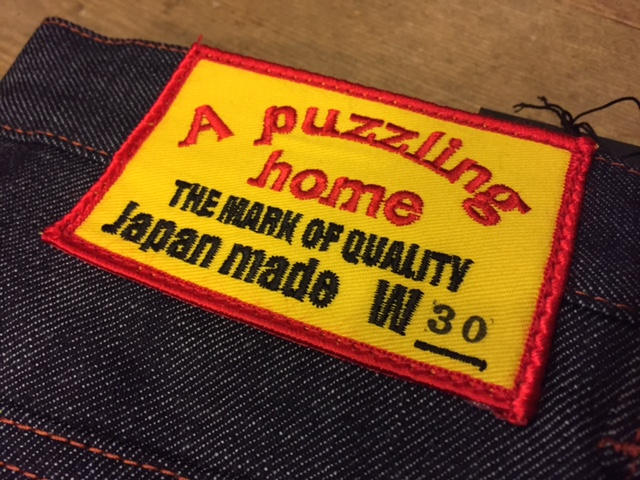 "A puzzling home ""5 pocket DENIM PANTS\""_d0121303_20355626.jpg"