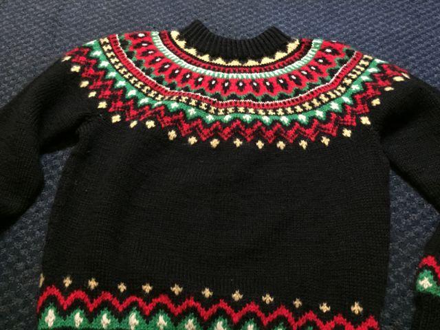 アメリカ仕入れ情報#20  ノルディックセーター !_c0144020_953114.jpg