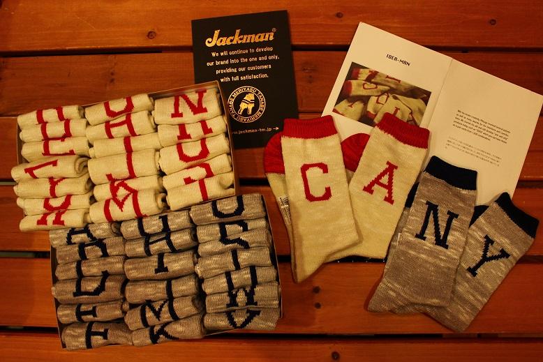 "IDEA-MAN 「Jackman」\""sock\"" アイテム _f0191324_9354516.jpg"