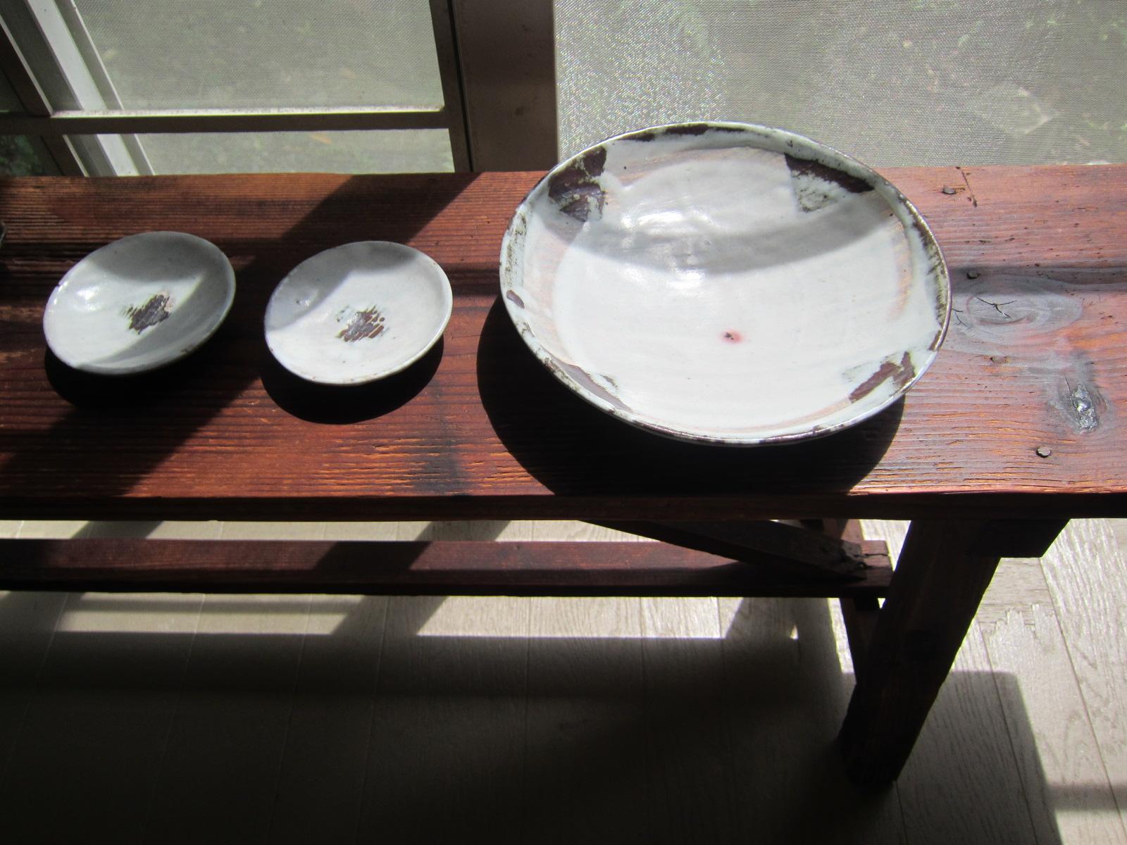思い出の作品/クロスのお皿。_b0207631_15255052.jpg