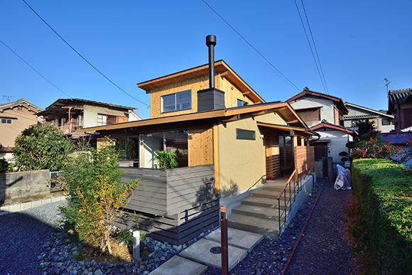 建物完成見学会「片流れ屋根の小さな家」_e0164563_1025726.jpg