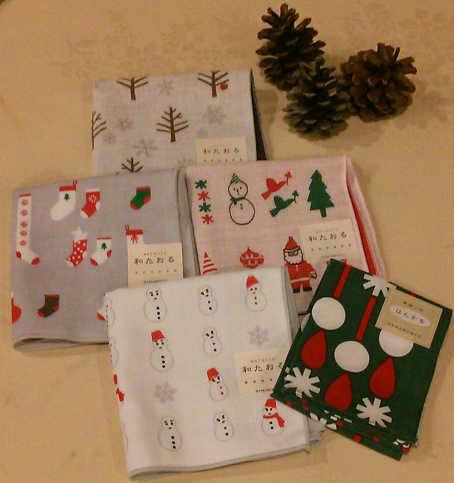 和たおる☆クリスマス柄☆入荷しました~♪_c0177995_17263078.jpg