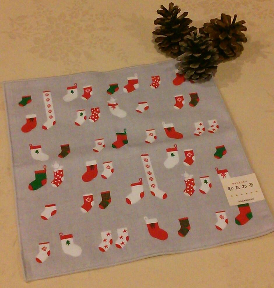 和たおる☆クリスマス柄☆入荷しました~♪_c0177995_17265358.jpg