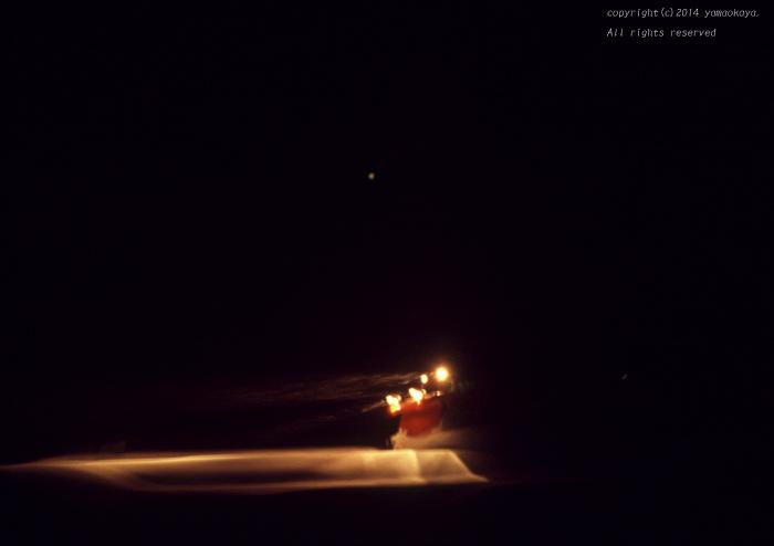 闇を切り裂いて ~冬神おろち・木次線ラッセル列車_d0309612_234429.jpg