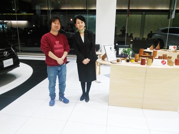 木工芸展終了 レクサス郡山店さん_d0250833_919015.jpg