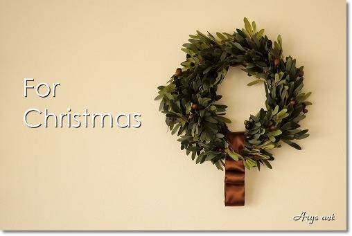 大人シックなクリスマス リース&スワッグ_c0243369_21105256.jpg