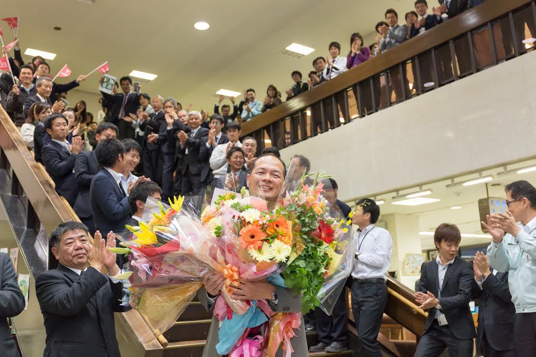 日本一の幸せな人間です_d0047811_23302956.jpg